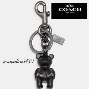 Coach Marvel Black Panther Bear Bag Charm
